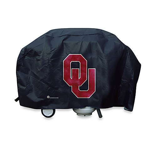 NCAA University of Oklahoma Deluxe Barbecue Grill Cover