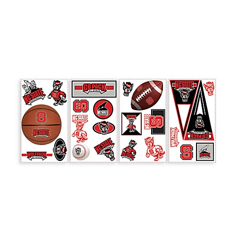 RoomMates North Carolina State University Peel & Stick Wall Decals