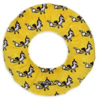 Mighty® Pet Toys No-Stuff Ring Dog Toy in Yellow
