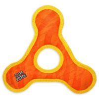 DuraForce Triangle Ring Dog Toy in Orange/Yellow