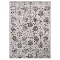 """Home Dynamix Kenmare by Nicole Miller Floral 7'9"""" x 10'2"""" Area Rug in Grey/Purple"""