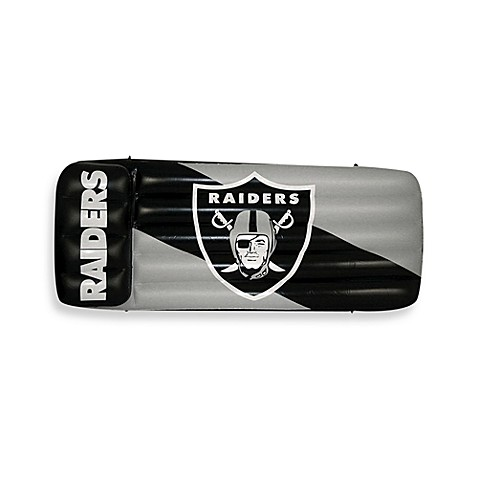 Oakland Raiders Inflatable Pool Float/Mattress