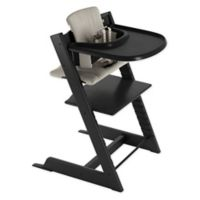 Stokke® Tripp Trapp® Grey High Chair in Black