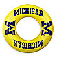 University of Michigan Inflatable Inner Tube/Swim Ring