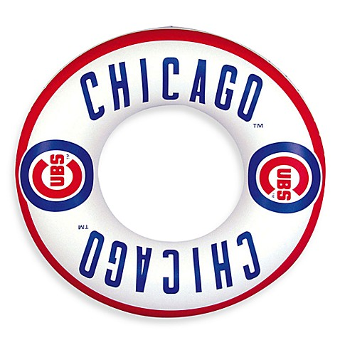 Chicago Cubs Inflatable Inner Tube/Swim Ring