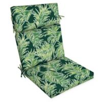 Arden Selections™ Medallion Print Outdoor Dining Chair Cushion in Green/Multicolor