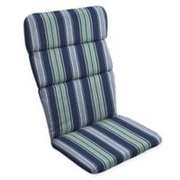 Arden Selections™ Aurora Striped Outdoor Adirondack Chair Cushion in Blue