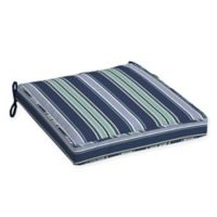 Arden Selections™ Aurora Striped Outdoor Dining Seat Cushion in Blue (Set of 2)