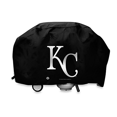 MLB Kansas City Royals Deluxe Barbecue Grill Cover