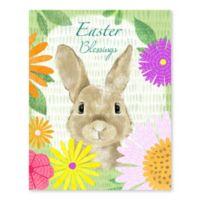 Easter Bunny 19-Inch x 15-Inch Wood Wall Art