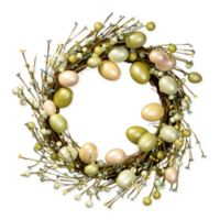 National Tree Company Multicolor Easter Eggs 20-Inch Wreath