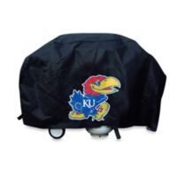 NCAA University of Kansas Deluxe Barbecue Grill Cover