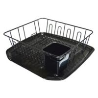 Small Dish Rack in Black