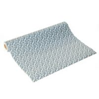 Con-Tact® Brand Grip Prints Non-Adhesive Shelf Liner Villa Navy