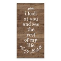 "Artissimo Designs™ ""Look At You & See"" Multicolor Canvas Wall Art"