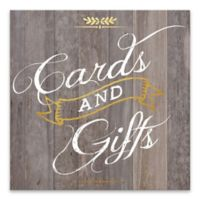 """Artissimo Designs™ """"Cards and Gifts"""" Multicolor Canvas Wall Art"""