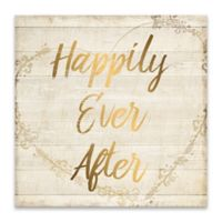 "Artissimo Designs™ ""Happily Ever After"" Multicolor Canvas Wall Art"