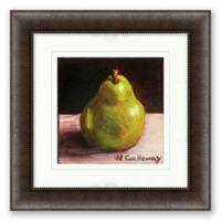 Pear 16.5-Inch Framed Print Wall Art