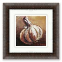 Garlic 16.5-Inch Framed Print Wall Art