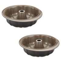 Anolon® Eminence™ Nonstick Fluted Mold Pan in Onyx/Umber