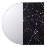 Holly & Martin® Bowers 31.75-Inch x 31.75-Inch Arch Decorative Wall Mirror in Black