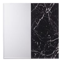 Holly & Martin® Bowers 32-Inch Square Decorative Wall Mirror in Black