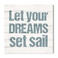 Oliver Gal™ Set Sail 12-Inch Square Canvas Wall Art