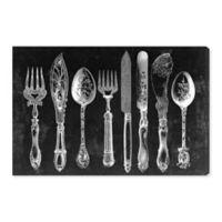 Oliver Gal™ Royal Cutlery 30-Inch x 20-Inch Canvas Wall Art