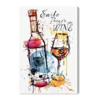 Oliver Gal™ Drinks And Spirits 10-Inch x 15-Inch Wrapped Canvas Wall Art