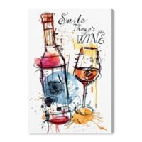 Oliver Gal™ Drinks And Spirits 16-Inch x 24-Inch Wrapped Canvas Wall Art