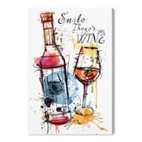 Oliver Gal™ Drinks And Spirits 20-Inch x 30-Inch Wrapped Canvas Wall Art