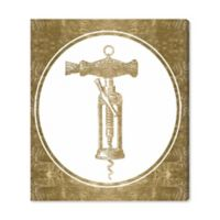 Oliver Gal™ Corkscrew Invention 13-Inch x 16-Inch Canvas Wall Art