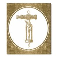 Oliver Gal™ Corkscrew Invention 20-Inch x 24-Inch Canvas Wall Art