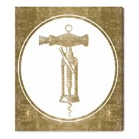 Oliver Gal™ Corkscrew Invention 24-Inch x 28-Inch Canvas Wall Art