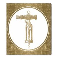 Oliver Gal™ Corkscrew Invention 30-Inch x 36-Inch Canvas Wall Art
