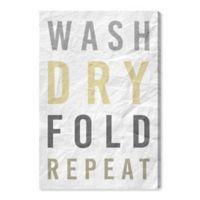 Oliver Gal™ Laundry Essentials 16-Inch x 24-Inch Canvas Wall Art