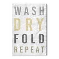 Oliver Gal™ Laundry Essentials 30-Inch x 45-Inch Canvas Wall Art