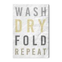 Oliver Gal™ Laundry Essentials 40-Inch x 60-Inch Canvas Wall Art