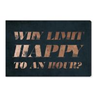 Oliver Gal™ Happy Hour 15-Inch x 10-Inch Canvas Wall Art