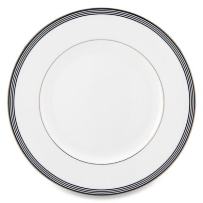 kate spade new york Parker Place™ Dinner Plate in White  sc 1 st  Bed Bath \u0026 Beyond & Buy White Dinner Plate Sets from Bed Bath \u0026 Beyond