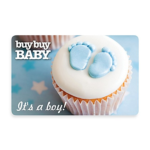 It's a Boy! Cupcake Gift Card