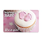 It's a girl!  Cupcake Gift Card $25