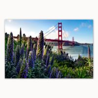 Christopher Knight Collection® Golden Gate Flowers 18-Inch x 24-Inch Canvas Wall Art