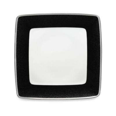 noritake pearl noir 1025inch large square dinner plate