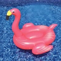 Swinline Giant Flamingo Pool Float in Pink