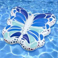 Swimline Giant Monarch Butterfly Pool Float in Blue