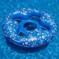 Swimline Tropical 4-Person Pool Lounger in Blue