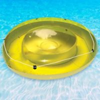 Swimline Island Sun Tan Pool Lounger in Green