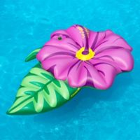 Swimline Hibiscus Pool Float in Pink