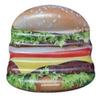Swimline Deluxe Cheeseburger Island Pool Float
